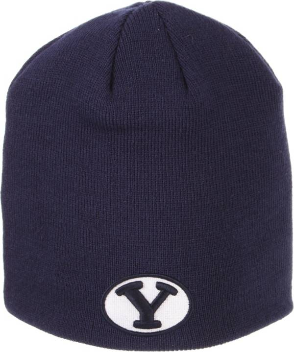 Zephyr Men's BYU Cougars Blue Knit Beanie product image
