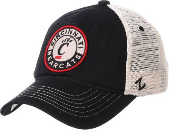 Zephyr Men's Cincinnati Bearcats Black Lancaster Trucker Adjustable Hat product image