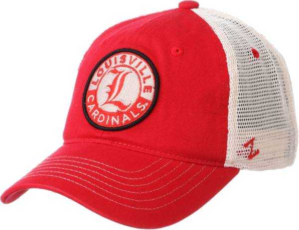 Zephyr Men's Louisville Cardinals Red Lancaster Trucker Adjustable Hat product image