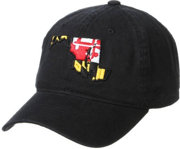Zephyr Men's Maryland Terrapins Maryland Flag Black Adjustable Hat product image