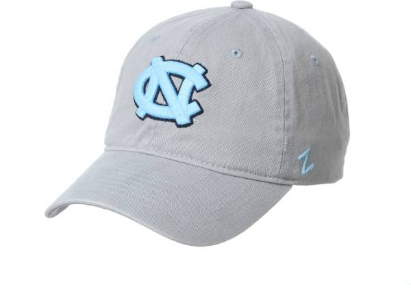 Zephyr Men's North Carolina Tar Heels Grey Scholarship Adjustable Hat product image