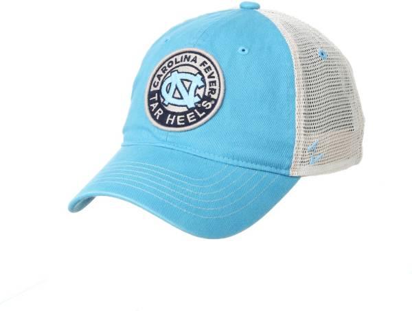 Zephyr Men's North Carolina Tar Heels Light Blue Lancaster Trucker Adjustable Hat product image