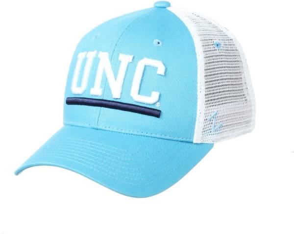 Zephyr Men's North Carolina Tar Heels Light Blue Upfront Adjustable Hat product image