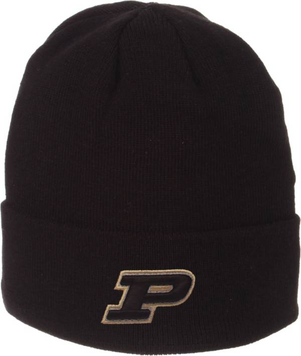 Zephyr Men's Purdue Boilermakers Cuffed Knit Black Beanie product image
