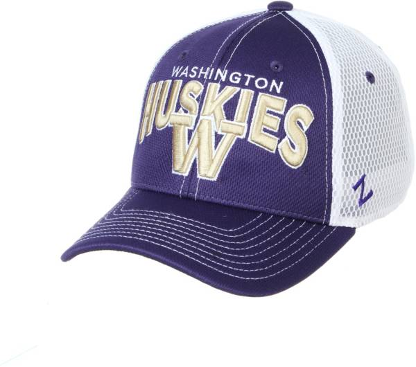 Zephyr Men's Washington Huskies Purple Adjustable Hat product image