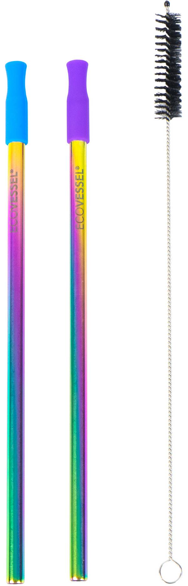 EcoVessel Reusable Stainless Steel Straw Set product image
