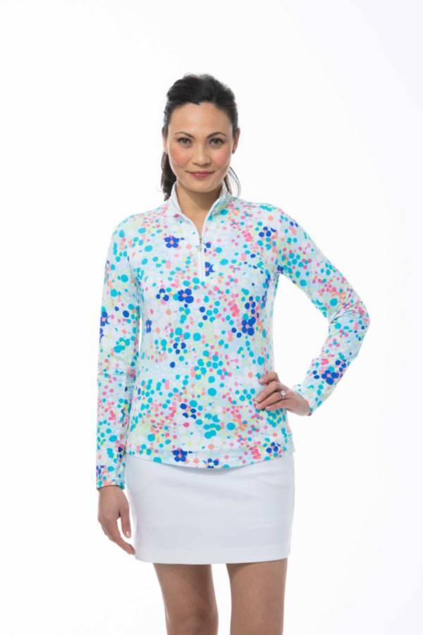 SanSoleil Women's SolTek ICE Zip Mock product image