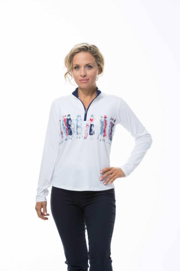 SanSoleil Women's SolCool Zip Mock product image