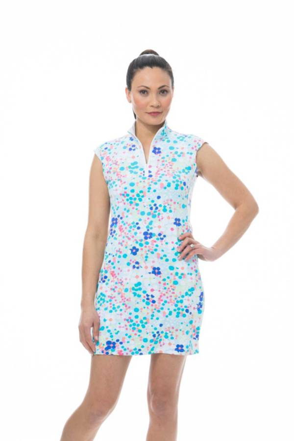 SanSoleil SolStyle Cool Sleeveless Zip Mock Dress product image
