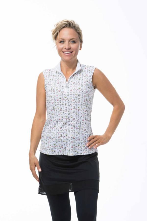 SanSoleil Women's SolTek ICE Sleeveless Mock product image