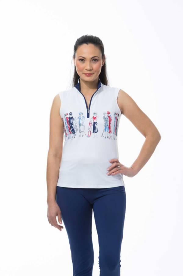 SanSoleil Women's SolCool Sleeveless Mock product image