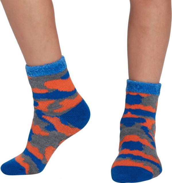 Northeast Outfitters Youth Camo Cozy Cabin Crew Socks product image