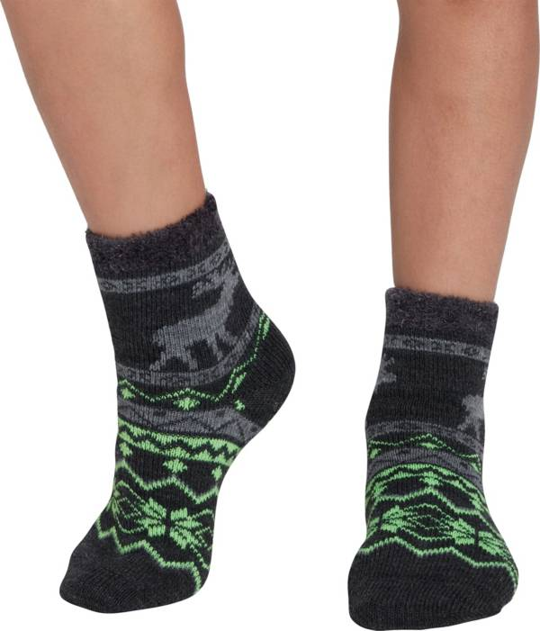 Northeast Outfitters Youth Nordic Moose Cozy Cabin Crew Socks product image