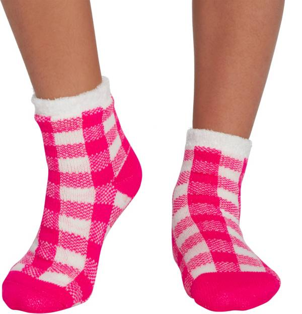 Northeast Outfitters Youth Buffalo Plaid Cozy Cabin Crew Socks product image