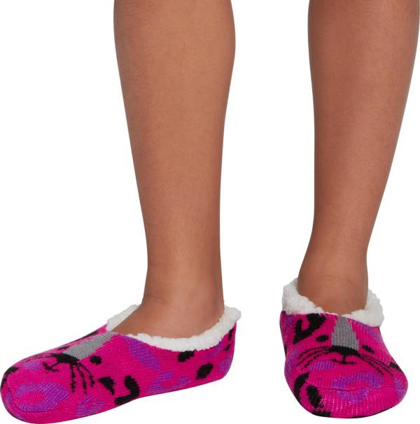Northeast Outfitters Youth Leopard Cozy Cabin Slipper Socks product image