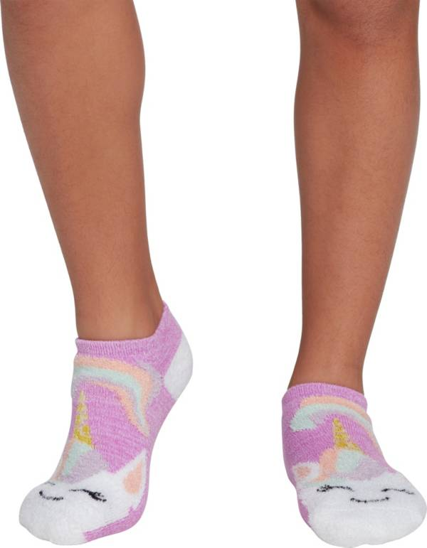 Northeast Outfitters Youth Unicorn Cozy Cabin Low Cut Socks product image