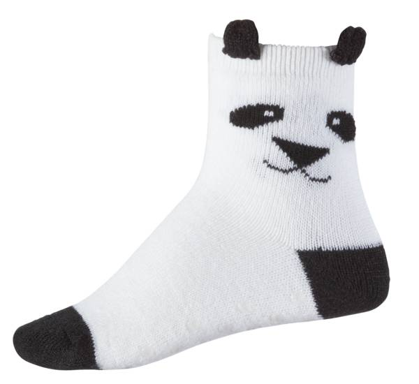 Northeast Outfitters Youth Panda Cozy Cabin Crew Socks product image