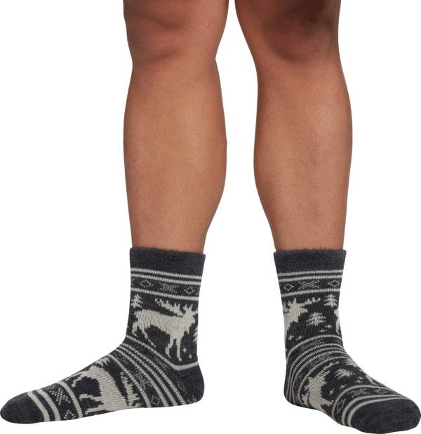 Northeast Outfitters Men's Moose Stripe Cozy Cabin Socks product image