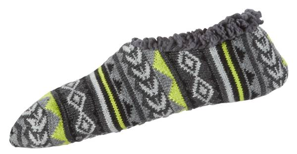 Northeast Outfitters Men's Aztec Stripe Cozy Cabin Slipper Socks product image