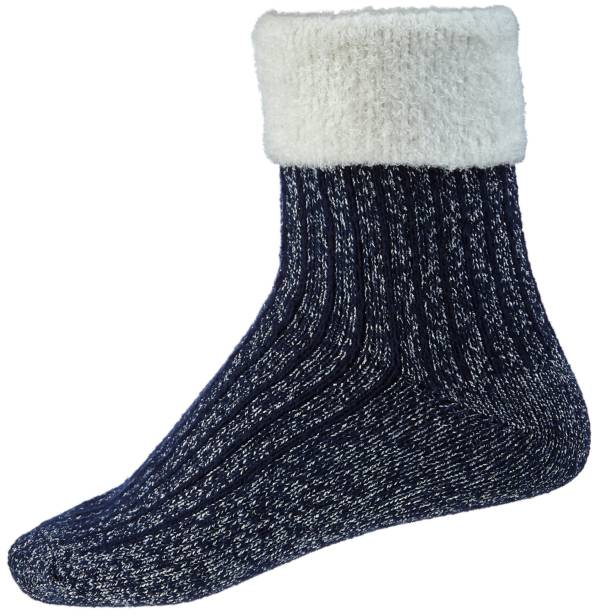 Northeast Outfitters Women's Metallic Cozy Cabin Cuffed Socks product image