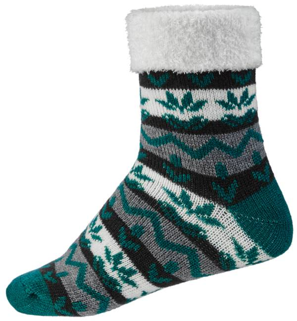 Northeast Outfitters Women's Nordic Stripes Cozy Cabin Cuffed Socks product image