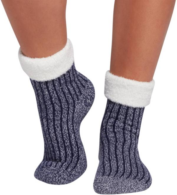 Northeast Outfitters Women's Rib Crew Cozy Cabin Cuffed Socks product image