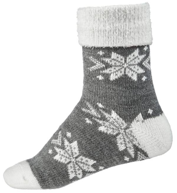 Northeast Outfitters Women's Snowflake Cozy Cabin Cuffed Socks product image