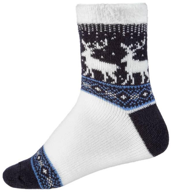 Northeast Outfitters Women's Fairisle Deer Cozy Cabin Crew Socks product image