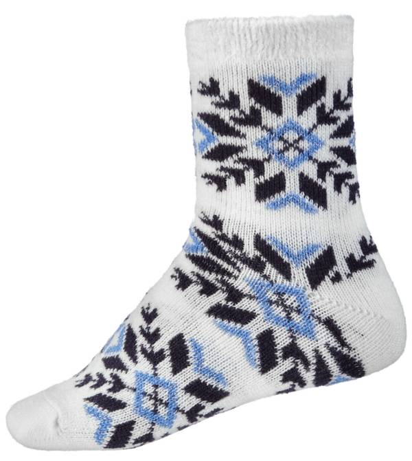 Northeast Outfitters Women's Sparkly Snowflake Cozy Cabin Crew Socks product image
