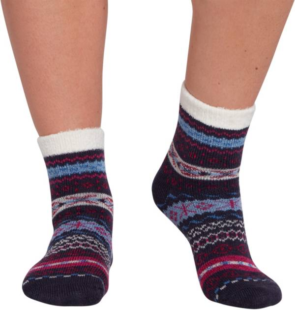 Northeast Outfitters Women's Tribal Color Pop Cozy Cabin Socks product image