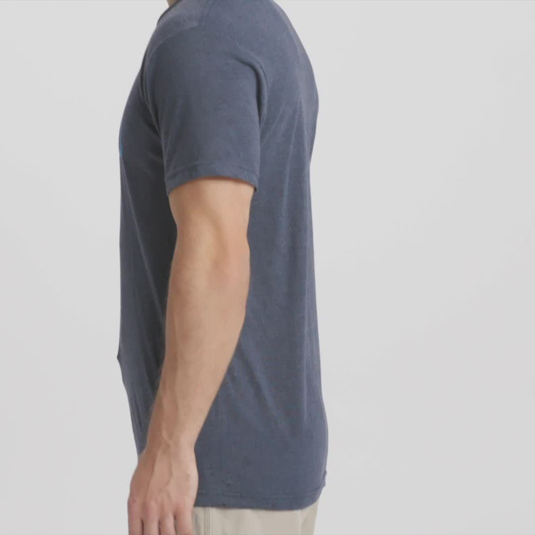443ddf4a YETI Men's Core Badge Logo Short Sleeve T-Shirt   DICK'S Sporting Goods