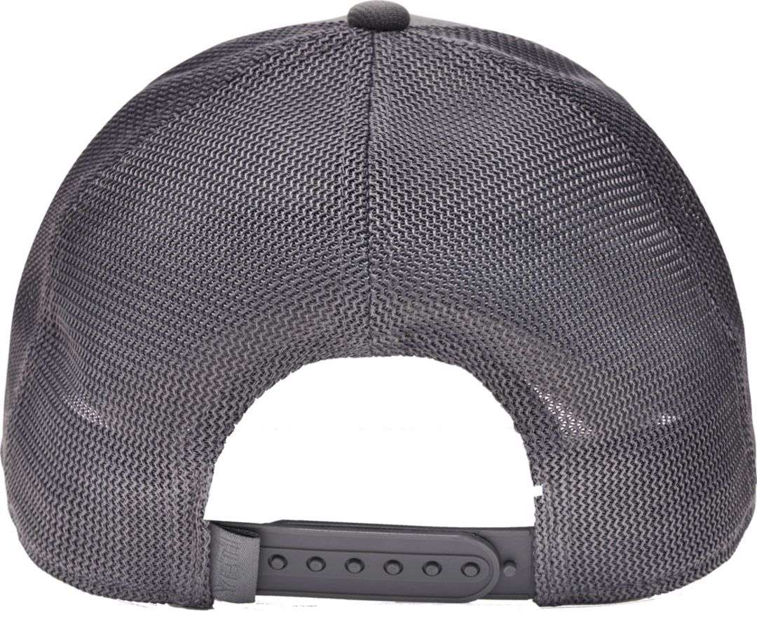 5d1bf9872fb04 YETI Grey on Grey Trucker Hat 3