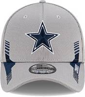New Era Men's Dallas Cowboys Grey Sideline 2021 Home 39Thirty Stretch Fit Hat product image