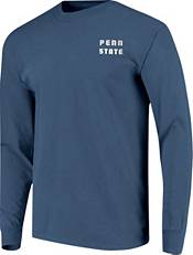Image One Men's Penn State Nittany Lions Blue Campus Skyline Long Sleeve T-Shirt product image