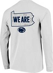 Image One Men's Penn State Nittany Lions White Hyperlocal Long Sleeve T-Shirt product image