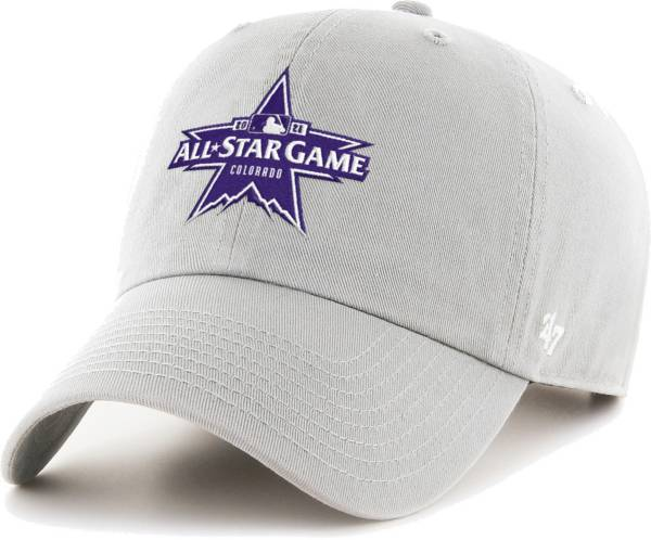 '47 Colorado Rockies 2021 All-Star Game Grey Adjustable Clean Up Hat product image