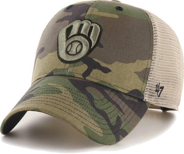 '47 Men's Milwaukee Brewers Camo Branson MVP Hat product image