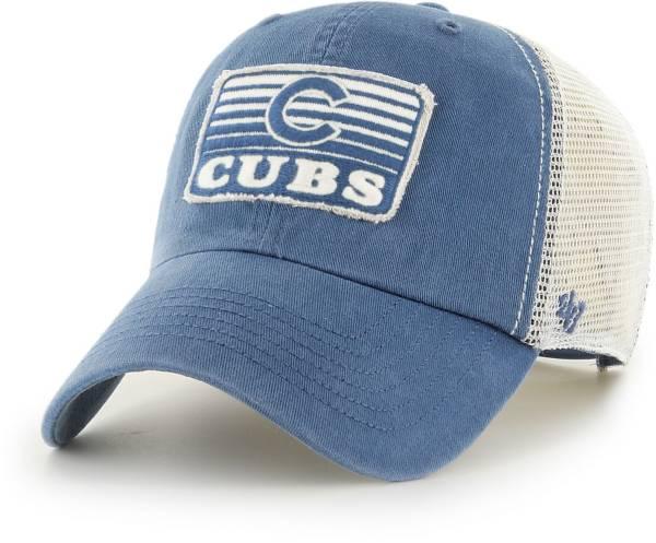 '47 Men's Chicago Cubs Blue Clean Up Adjustable Hat product image