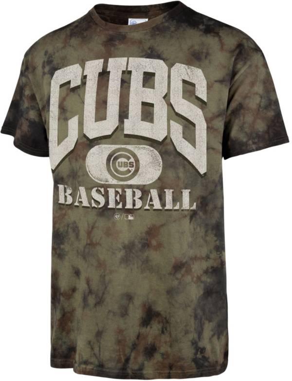 '47 Men's Chicago Cubs Camo Foxtrot T-Shirt product image
