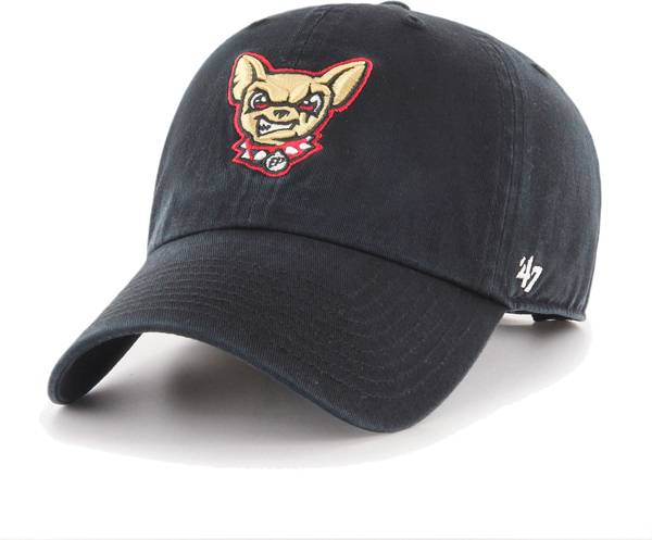'47 Men's El Paso Chihuahuas Black Clean Up Adjustable Hat product image