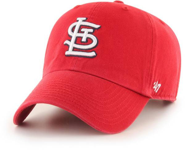 '47 Men's St. Louis Cardinals Red Clean Up Adjustable Hat product image