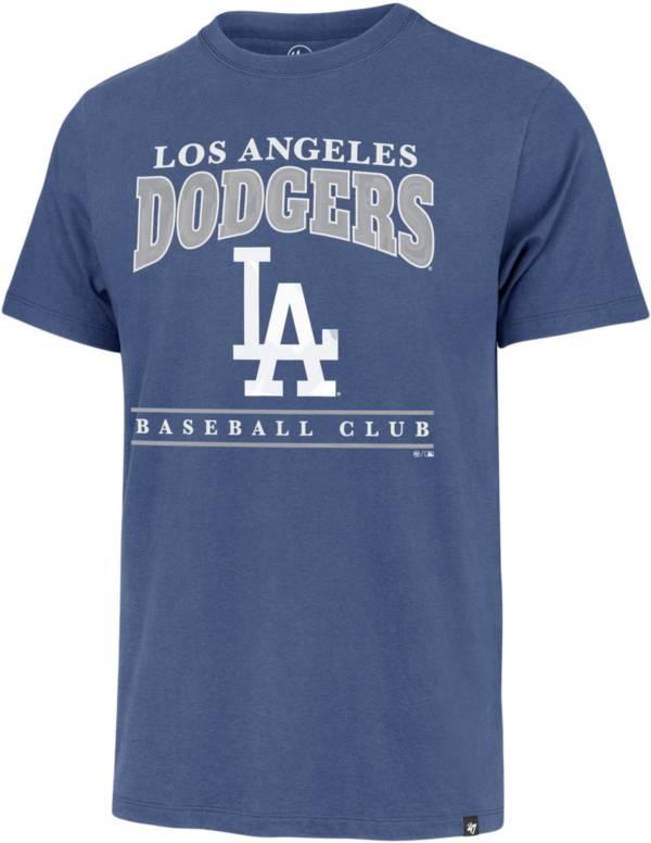 '47 Men's Los Angeles Dodgers Blue Franklin T-Shirt product image