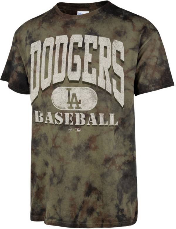 '47 Men's Los Angeles Dodgers Camo Foxtrot T-Shirt product image