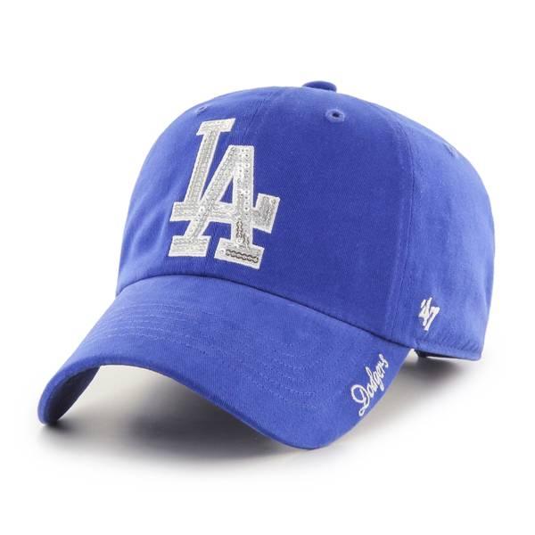 '47 Women's Los Angeles Dodgers Royal Sparkle Adjustable Hat product image