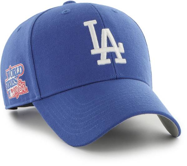 '47 Men's Los Angeles Dodgers Royal Snapback Adjustable MVP Hat product image