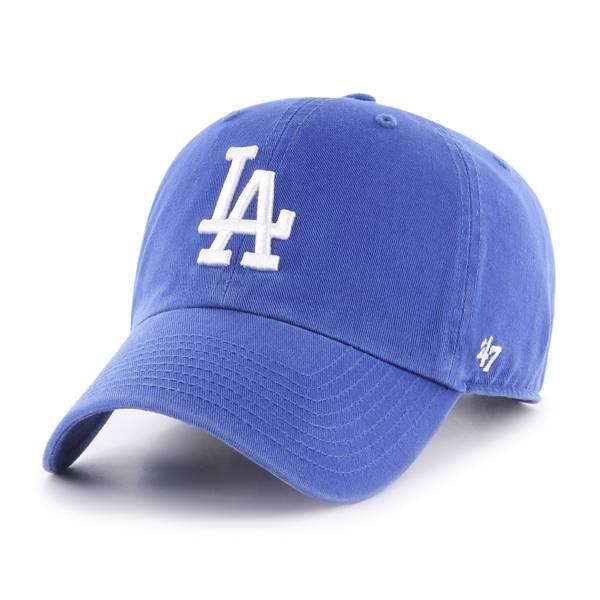 '47 Men's Los Angeles Dodgers Royal Heritage Clean Up Adjustable Hat product image