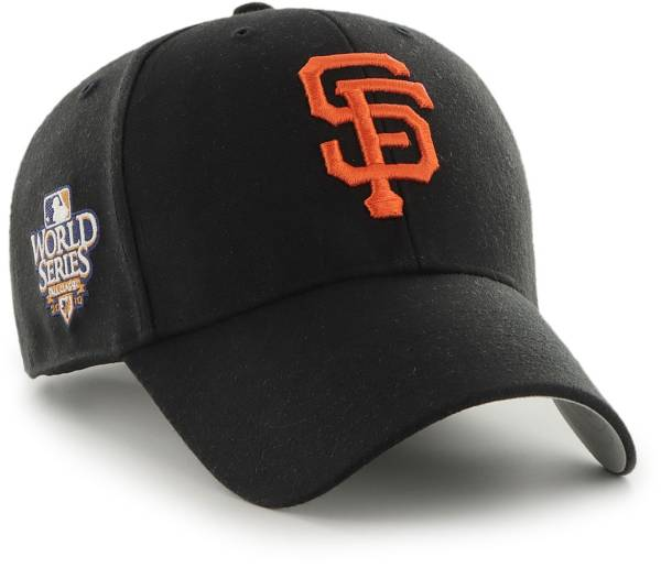 '47 Men's San Francisco Giants Black Snapback Adjustable MVP Hat product image
