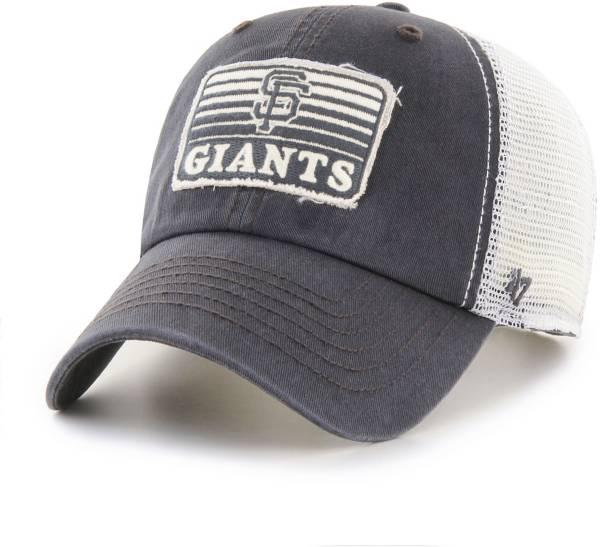 '47 Men's San Francisco Giants Gray Clean Up Adjustable Hat product image