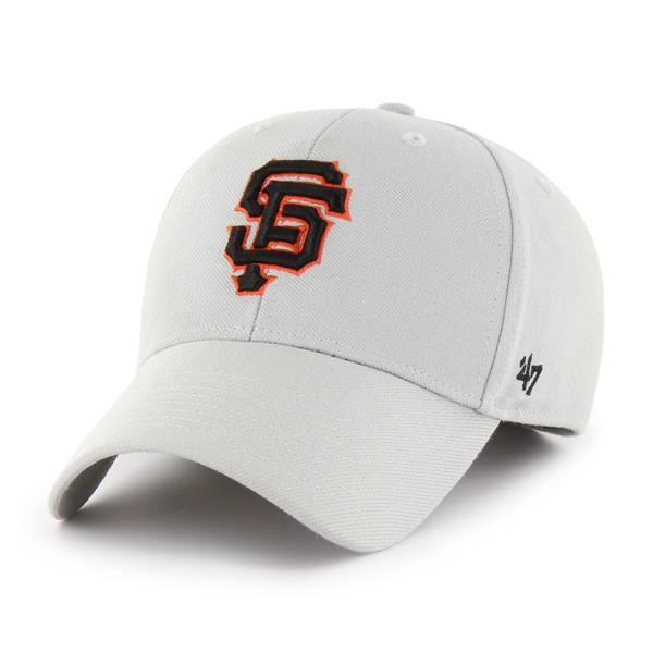 '47 Men's San Francisco Giants Grey MVP Adjustable Hat product image