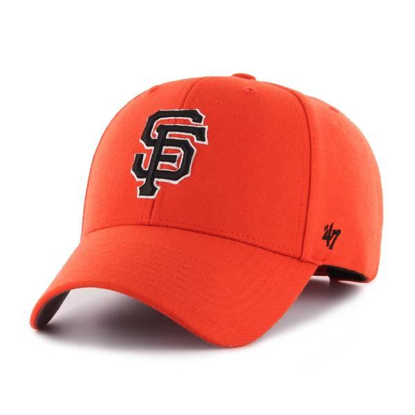 '47 Men's San Francisco Giants Orange MVP Adjustable Hat product image